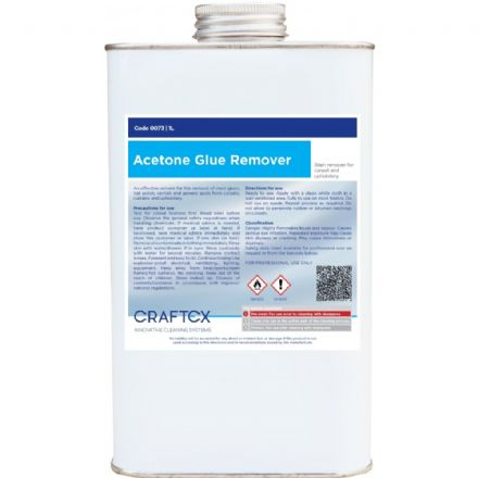 Craftex Acetone Glue Remover 1ltr